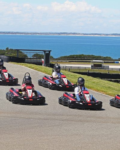 Feel the speed with breathtaking ocean views at Phillip Island Go Karts