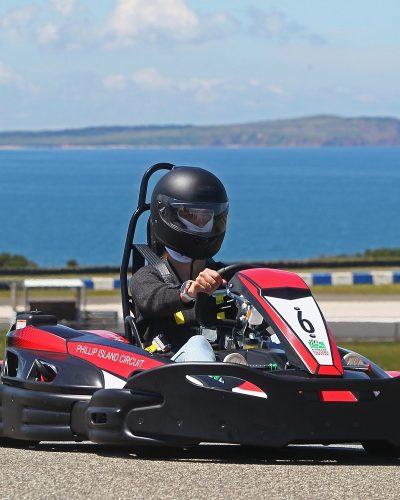 Get behind the wheel of the Sodi RT8 Evo2 single karts