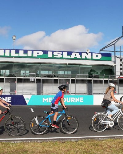 Ride the Phillip Island Grand Prix Circuit on your push bike