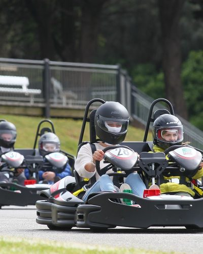 The Sodi 2Drive tandem karts allow the whole family to experience the fun